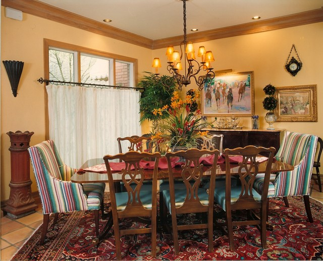 Traditional Home dining-room
