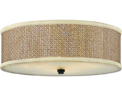 Quoizel Traditional/ Classic Three-Light Down Lighting Large Flushmount contemporary-ceiling-lighting