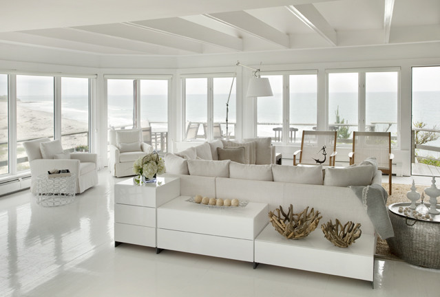 Stonewall Beach Residence contemporary-living-room
