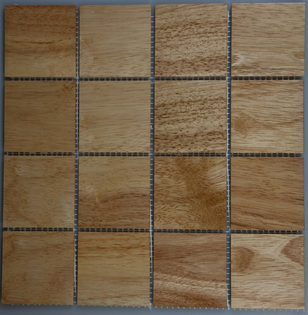 Exotic Wood Tile modern