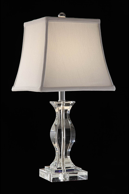 Turkis Crystal 3 Way Chrome Table Lamp