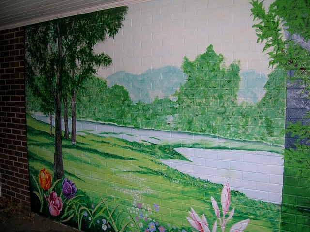 Four seasons wall mural traditional milwaukee by for 4 seasons mural