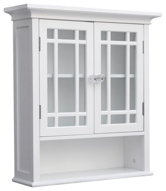 Neal Wall Cabinet with 2 Doors and 1 Shelf transitional-medicine-cabinets