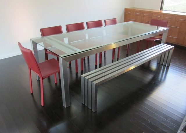 SIMPL Stainless Steel Dining Table dining-tables