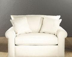 Upholstered Twin Sleeper traditional-futons