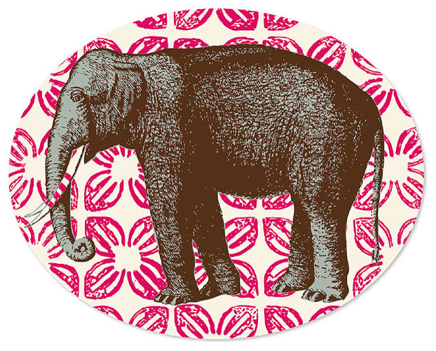 Thomas Paul Bazaar Elephant Tray asian-platters