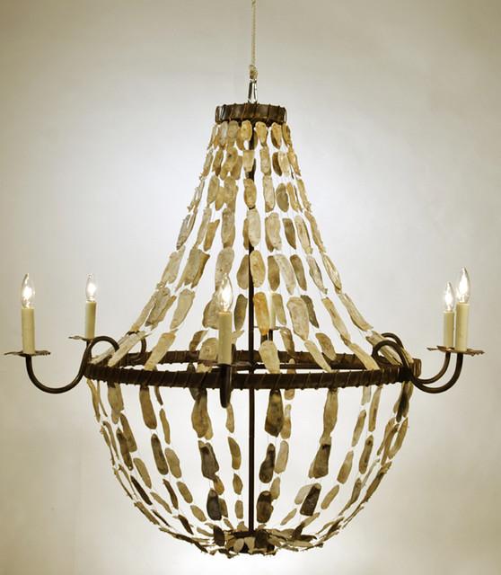 May River Empire Chandelier eclectic-chandeliers