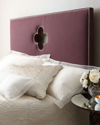 Quatrefoil Headboard traditional headboards