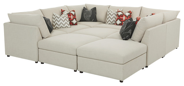 Beckham Pit Sectional sectional sofas raleigh