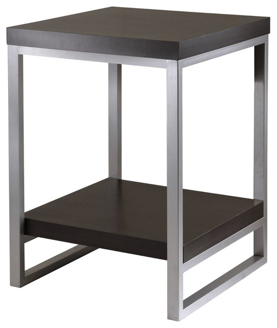 Jared End Table, Enamel Steel Tube modern-side-tables-and-end-tables