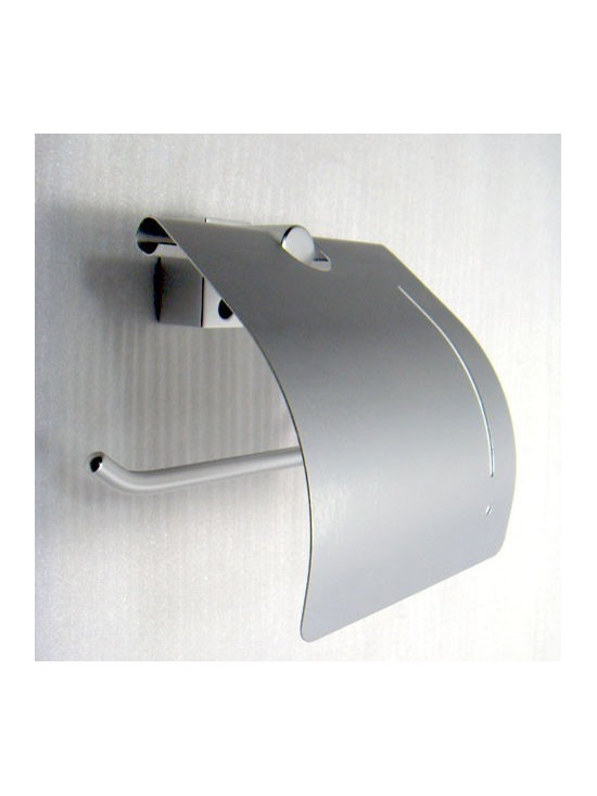 Aluminum Bathroom Toilet Roll Holder - Features: