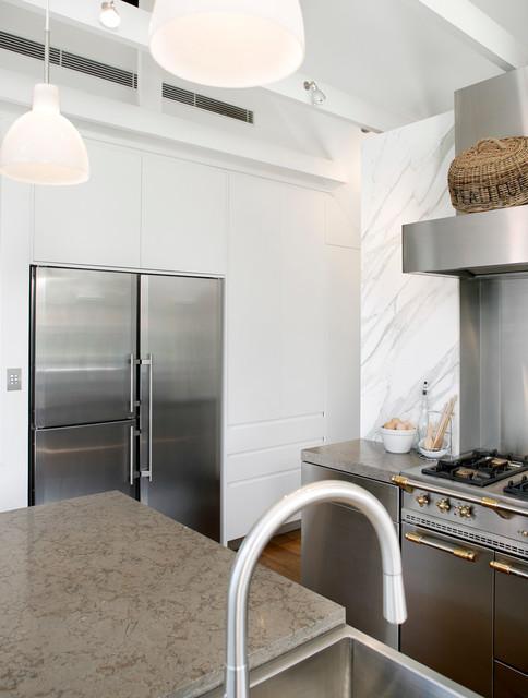 Raglan Street, Mosman contemporary-kitchen