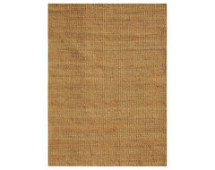 Hand-Woven Basket Natural Jute Rug traditional rugs