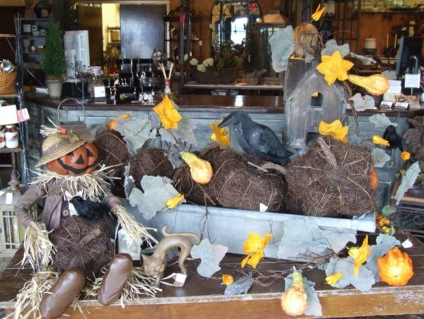 Fall/Autumn Decor at Iron Accents eclectic