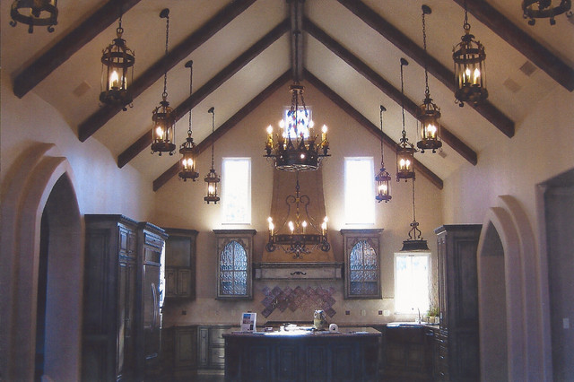 Faux Timber Beams rustic-molding-and-millwork