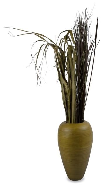 Curved Bamboo Vase modern-vases