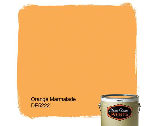 Dunn-Edwards Paints Orange Marmalade DE5222 -
