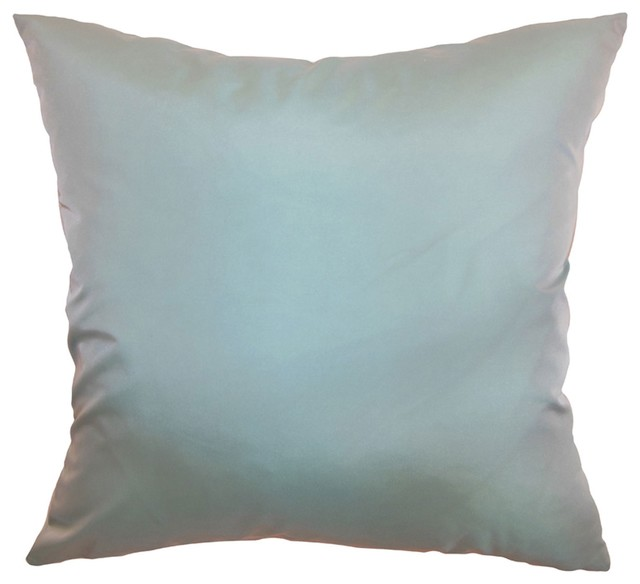 Throw Pillows Pictures : Quinta Plain Pillow Aqua 18