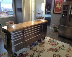 Storage Surprise: Turn Colorful Tool Cabinets Into Fun Furniture