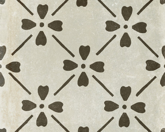 COTTO BLOOM  12X12 - The Palazzo collection provides a multi-faceted dynamic of old world charm and modern beauty with three beautiful colors and four unique decorative designs. Trim options and mosaics also available.