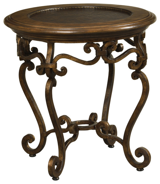 Clairmont End Table traditional-side-tables-and-end-tables