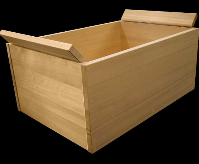 Japanese Wooden Soaking Tub With Removable Headrest San Francisco By Ki Arts