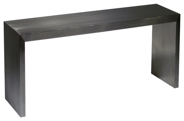 Reese Console Table, Small - modern - side tables and accent ...