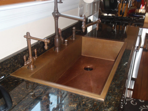 Wow Copper Sinks Are A Bit Confusing I Read About Copper