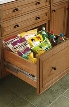 Organization Options from Kemper Cabinets traditional