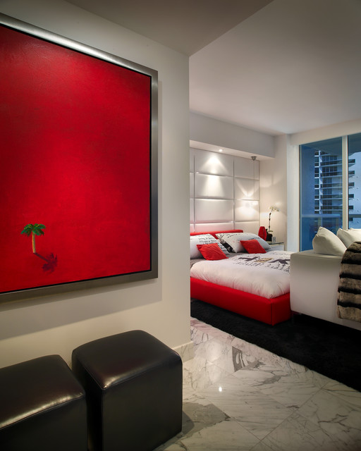 Miami Beach -Miami By PepeCalderinDesign - Interior designers Miami - Modern modern-bedroom