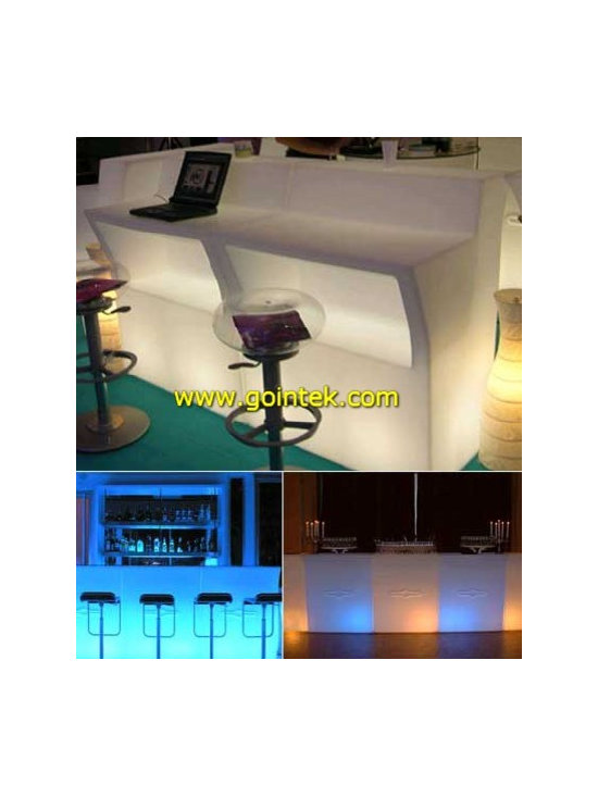 led bar counter design -