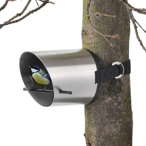 BOREA Tree Mounted Bird Feeder by Blomus modern-bird-feeders