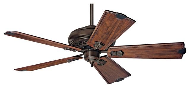 arts and crafts mission 60 hunter fellini cocoa ceiling. Black Bedroom Furniture Sets. Home Design Ideas