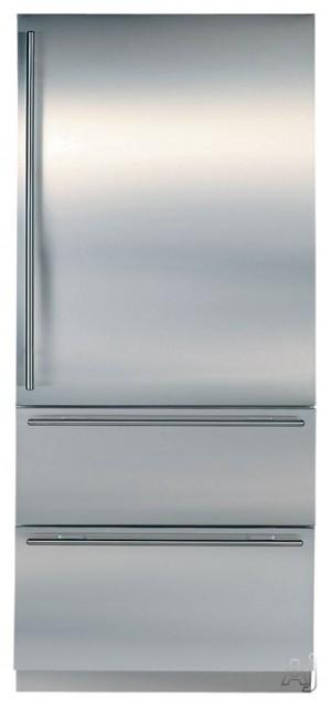 Sub-Zero 736TCI 36-Inch Built-In Bottom-Freezer Refrigerator contemporary