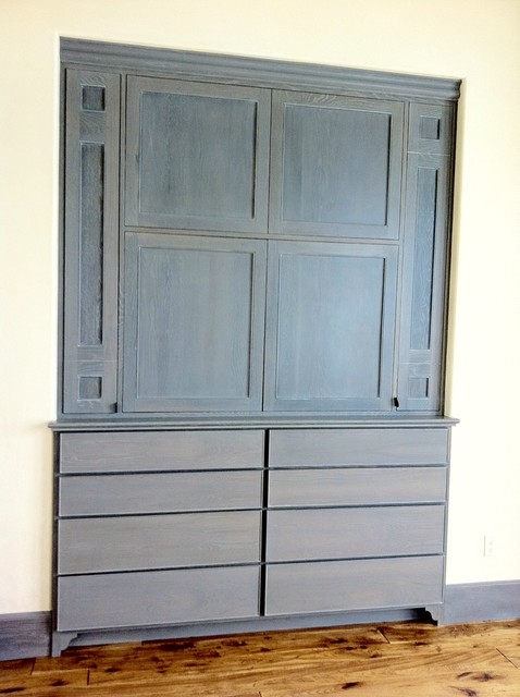 Guest Bedroom Media Cabinet - Transitional - los angeles - by Studio 1323