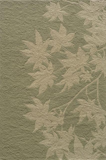 Momeni Veranda Outdoor / Indoor Foliage Sage 2' x 3' Rug by RugLots rugs