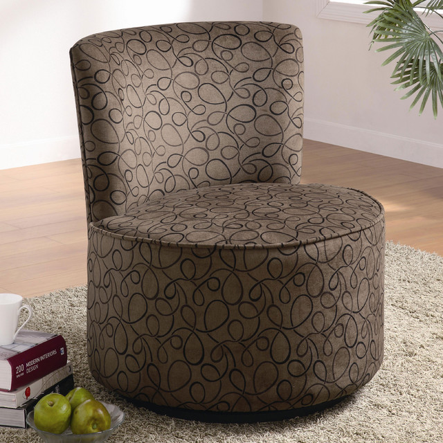 Elegant Round Swivel Chair modern chairs
