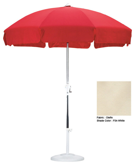 california umbrella 7 5 patio umbrella with push button