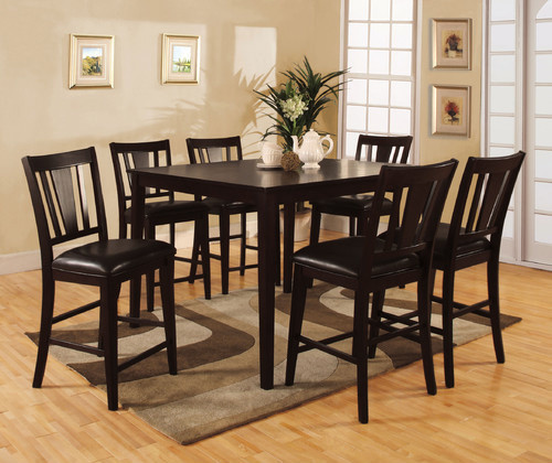 Counter Height Modern Dining Table : Bridgette 7 Piece Counter Height Dining Set modern-dining-tables