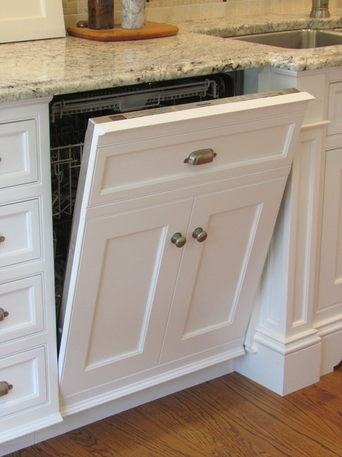 Dishwasher Panel Traditional Dishwashers Boston By