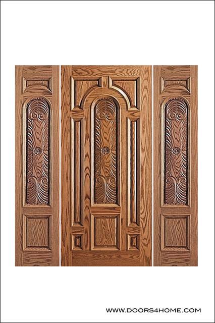 Unique Entry Doors Model # 525-CP mediterranean-front-doors
