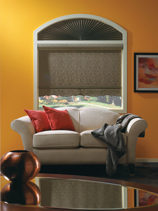 Bali® Roller Shades: Plume: Russet -