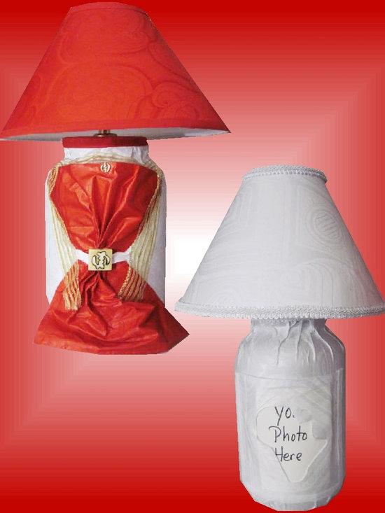 Red Gye Nyame White Photofill -