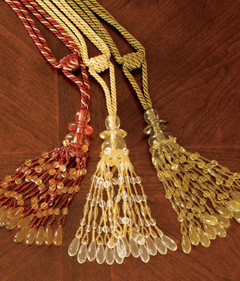 Chandelier Tassel traditional-curtains