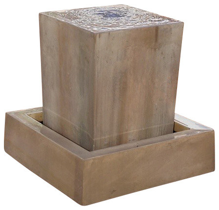 Obtuse Outdoor Fountain, Rustic contemporary-outdoor-fountains-and-ponds