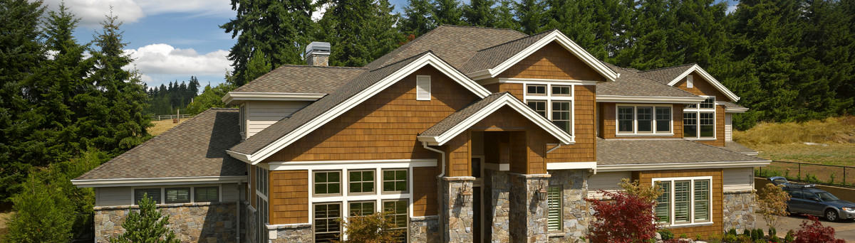 Presidential Shake Shingles Shown In Autumn Blend