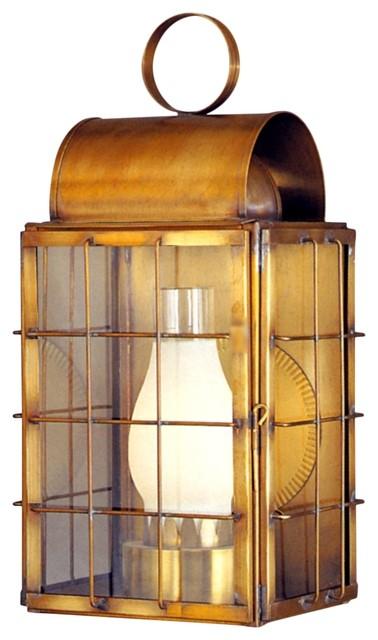 newport harbor wall sconce nautical copper lantern outdoor. Black Bedroom Furniture Sets. Home Design Ideas