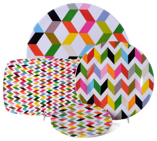 Ziggy Plate contemporary-dinner-plates