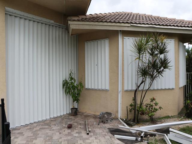 Hurricane Proof Shutters Modern Windows Miami By
