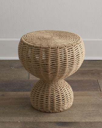 Mozelle Rope Table traditional-side-tables-and-end-tables